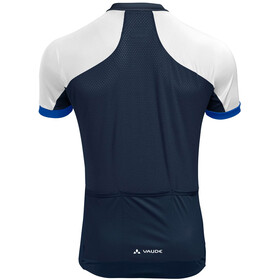 VAUDE Advanced FZ Tricot Men, azul/blanco